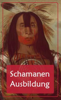 Akademie für internationalen Schamanismus - Zeichnung Schamane - Ausbildung